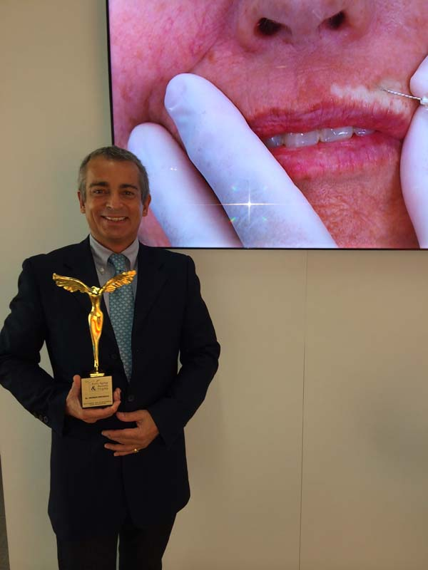 Le Docteur Patrick Micheels remporte un Award