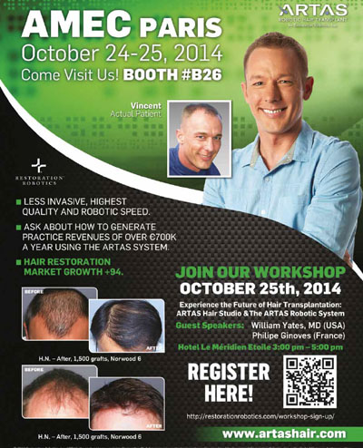 ARTAS® Robotic Hair Transplant