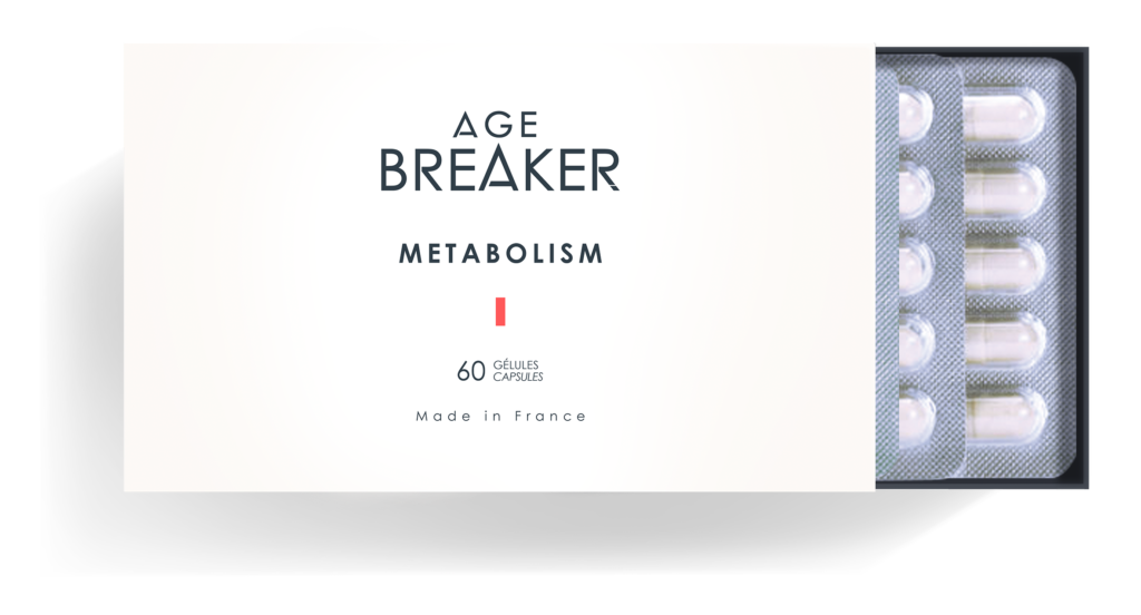 Age breaker metabolism
