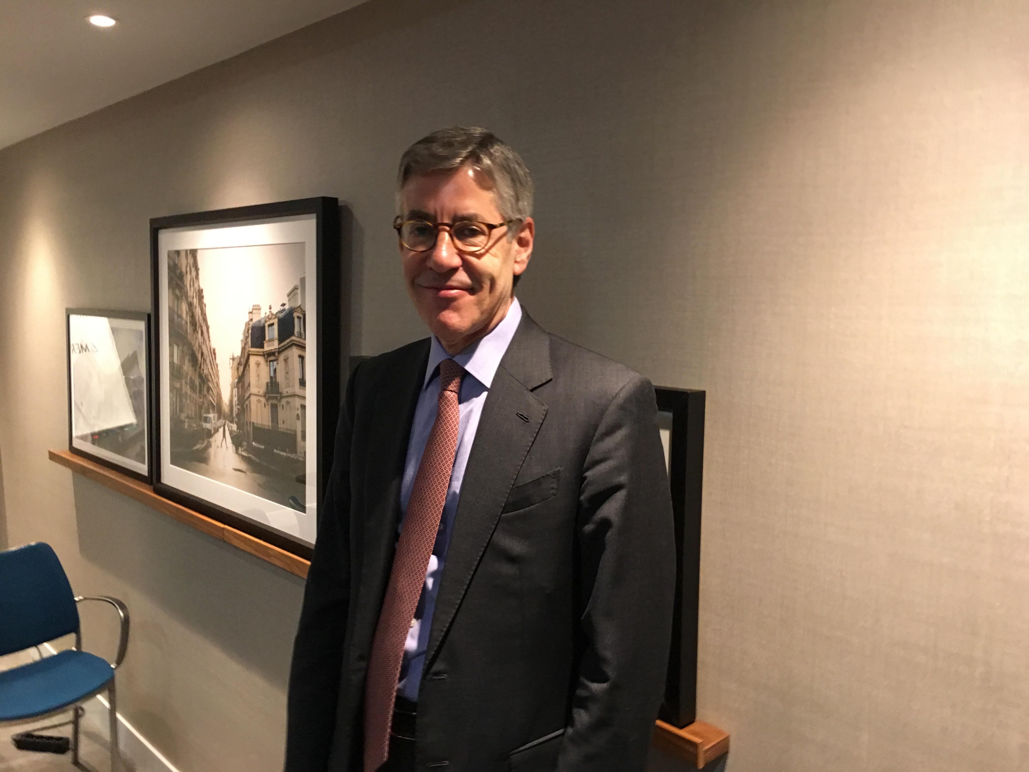 Philip Burchard, PDG de Merz Aesthetics
