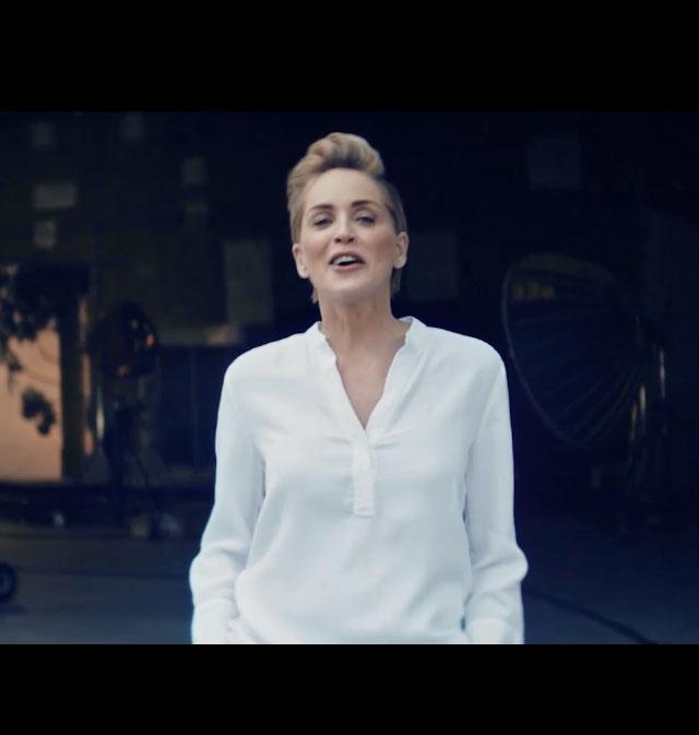 Sharon Stone partners with Galderma